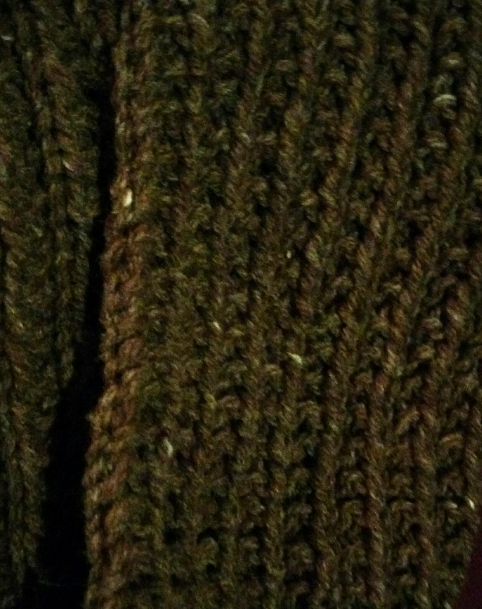 écharpe réalisée avec la Fado de chez Fonty